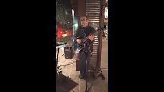 LilloStrillo Live a Terranobile, canta a Testa in giù (Pino Daniele)