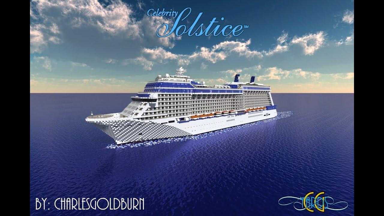 Minecraft Cruise Ship Celebrity Solstice 1 1 Scale