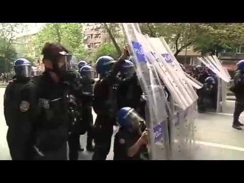 Dia Do Trabalho é Marcado Por Protestos No Mundo - Leitura Dinâmica 01/05/2014