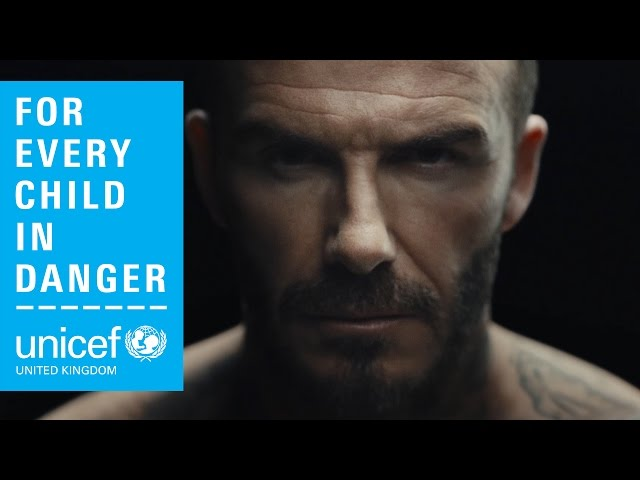 f319a7f648c3a David Beckham stars in new UNICEF video to end violence against children |  HELLO!