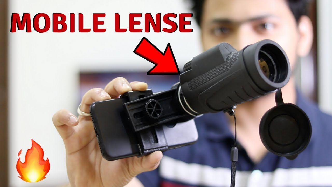 Telescope Lense For Mobile | Unboxing & Review | Tech Unboxing