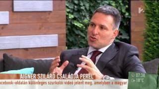Aigner Szilárd családja perli a kegyeletsértő újságírókat - tv2.hu/mokka