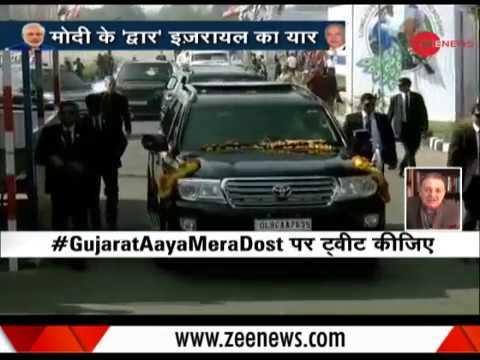 Modi-Netanyahu to begin roadshow in Gujarat
