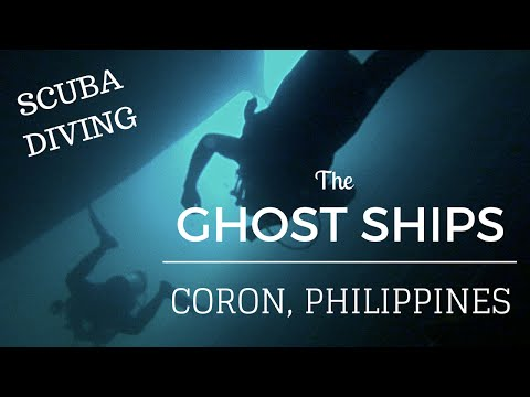 Philippines INCREDIBLE Shipwreck Diving Coron - Palawan Travel VLOG Guide 2016