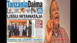 Lissu Nitawataja Waliopanga kuniua, VIgogo CCM wamtega Magufuli, Kushtakiwa kwa Uhaini