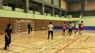 【ハンドボール】RUSH×ARISE合同練習会  20194.14 埼玉県三郷市総合体育館