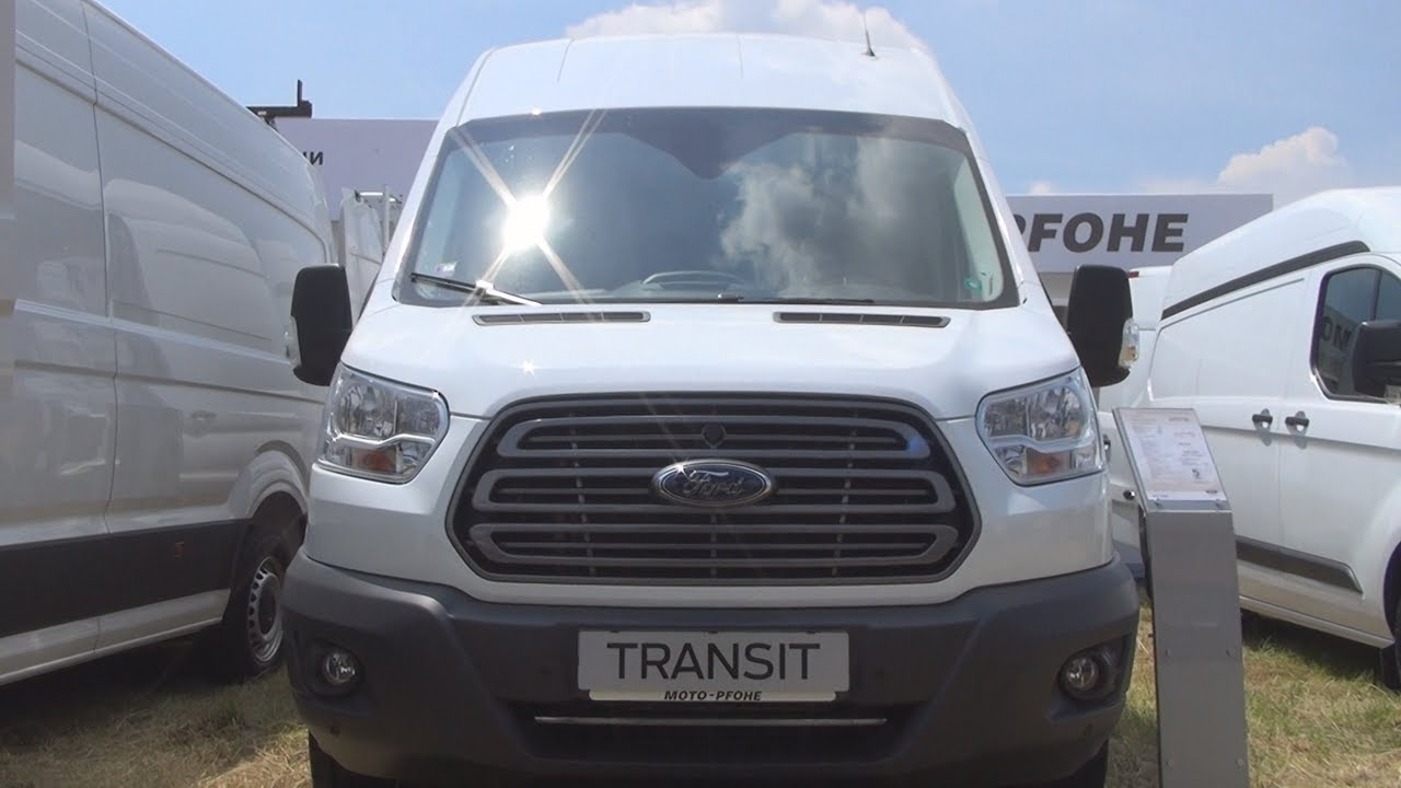 97e11ac69e Ford Transit 350L Trend FWD 2.0 TDCi 130 hp Panel Van (2017) Exterior and  Interior in 3D