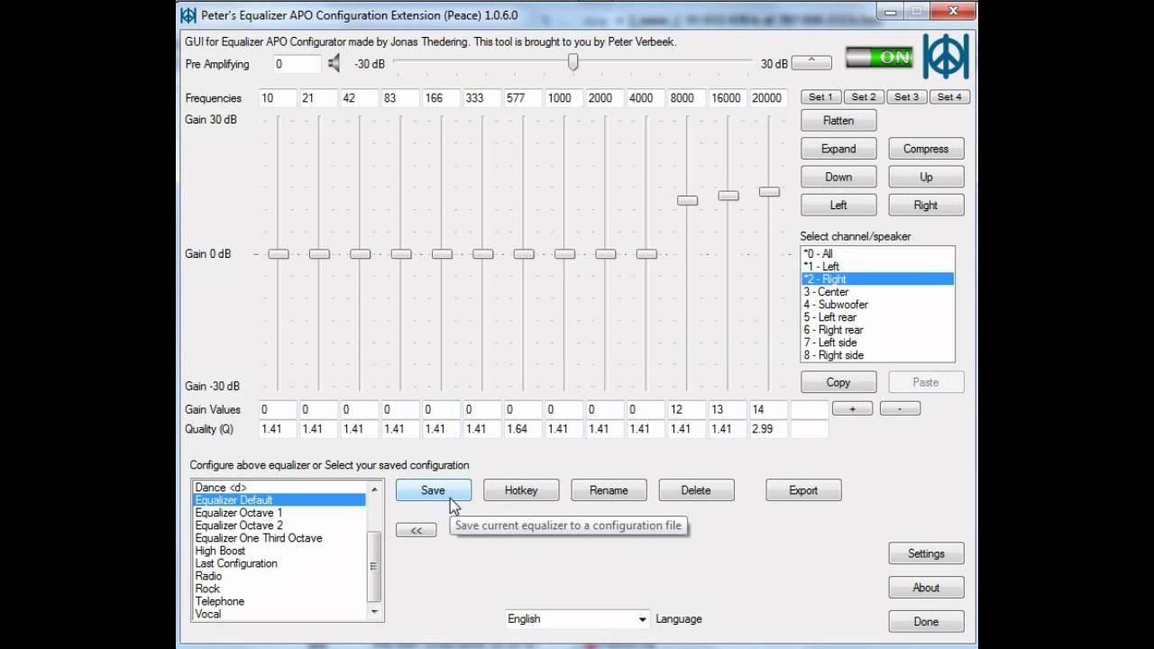 Peace GUI Equalizer APO - Tutorial 1 Introduction