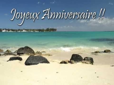 chanson anniversaire en creole