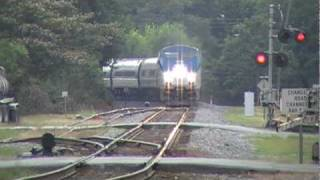 The Amtrak Crescent #20 w/ The Super Crew vs G3A w/ Horn Show! Austell,Ga 07-09-2010© (16x9)