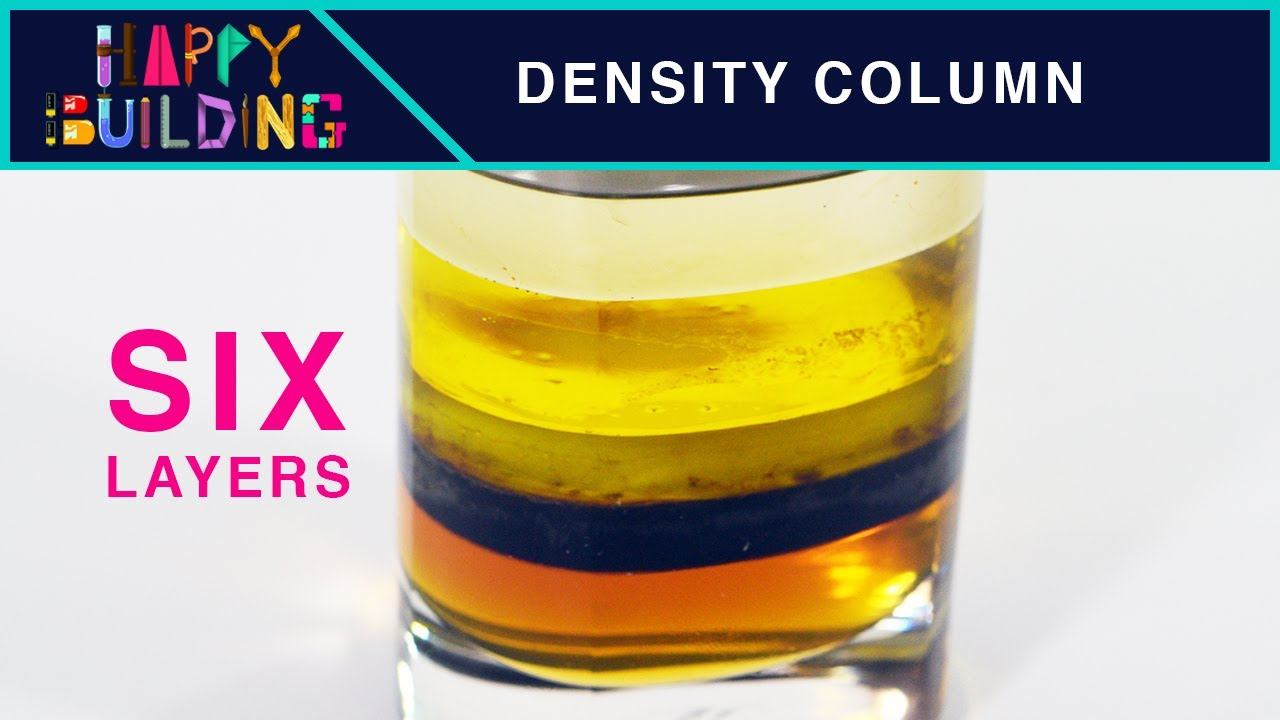 7 layer density column Household items are layered by density 7 layer density coloum search this site display poster problem literature review literature review.