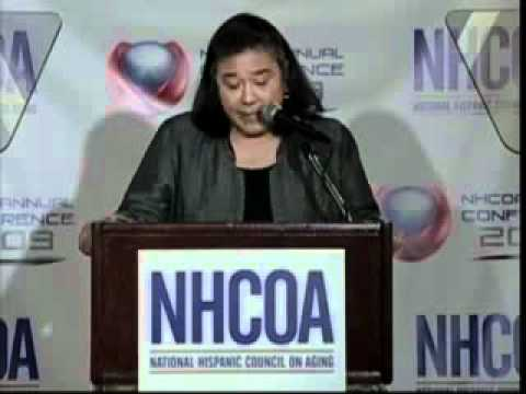 White House Office of Public Engagement Director @ 2009 NHCOA Annual Conference