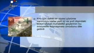 Suriye Şam Devlet Televizyonu Haberleri Türkçe 07.01.2013 Suriye Kızları Haber Ajansı
