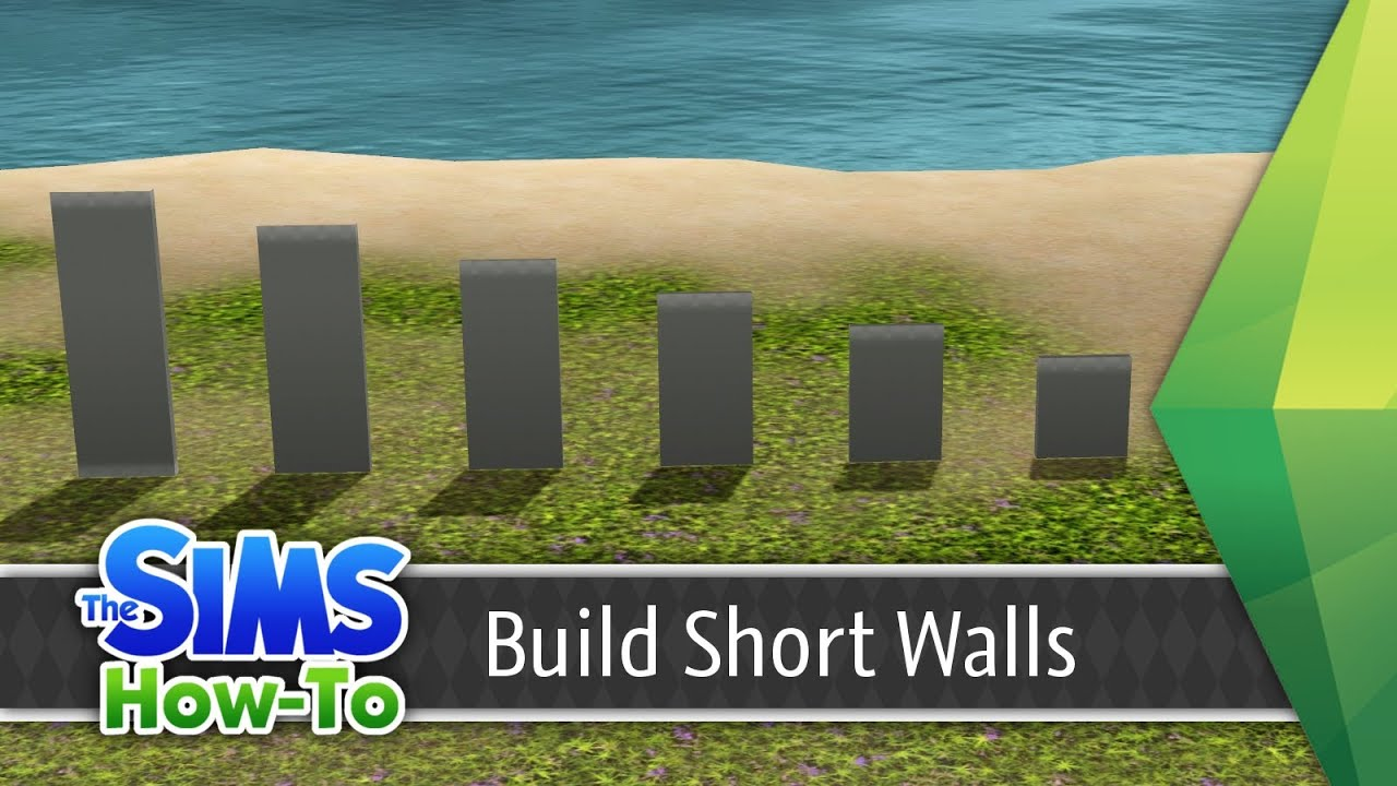 Sims  How To Build Short Wall
