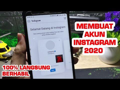 Cara Membuat Akun Instagram 2020 Dijamin Berhasil Youtube