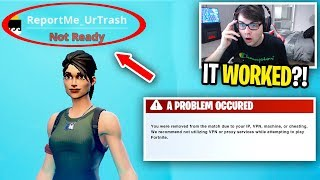 I spent a DAY trying to get BANNED on Fortnite... (so toxic)