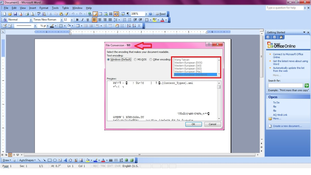 Watch How to Open a New Document in Microsoft Office Word 2010 video