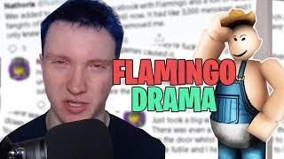 Reaktion auf Nathorix Flamingo Drama (Roblox)