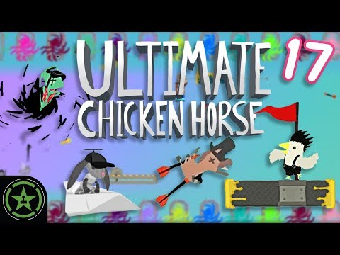 HOW? - Ultimate Chicken Horse (#17) - Matt's Maps March | Let's Play