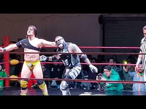 Garza Jr y Ultimo Ninja vs Penta 0M y Rey Fénix 1/2