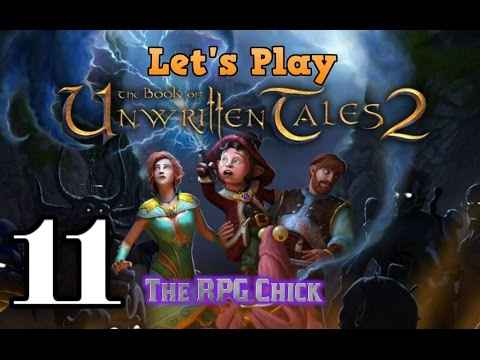 Let's Play Book Of Unwritten Tales 2 (Blind), Part 11: Kobolds Caught And Hall Swept