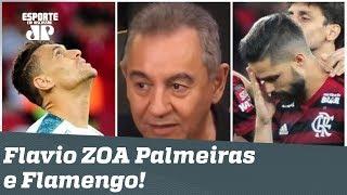 """""""Milionário e Zé Rico estão FORA?"""" Flavio Prado ZOA Palmeiras e Flamengo!"""