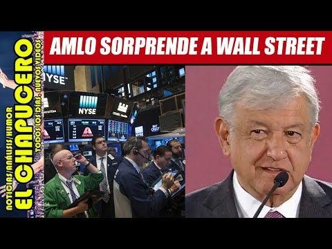 AMLO SORPRENDE A WALL STREET CON AUDAZ ESTRATEGIA FINANCIERA