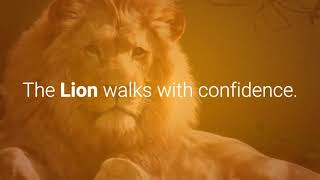 Lion as a leader