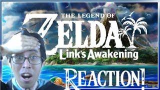 The Legend of Zelda: Link's Awakening Remake Reveal Trailer (Nintendo Direct 3.12.2019) Reaction!