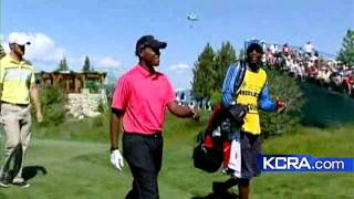 Big Names Compete In Celebrity Golf Championship