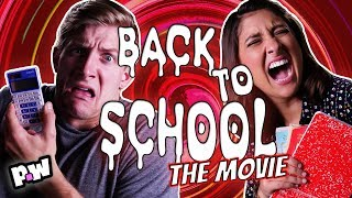 """""""Back to School"""" - Scary Not Scary Fake Movie Trailer - End of Summer Scary Movie"""