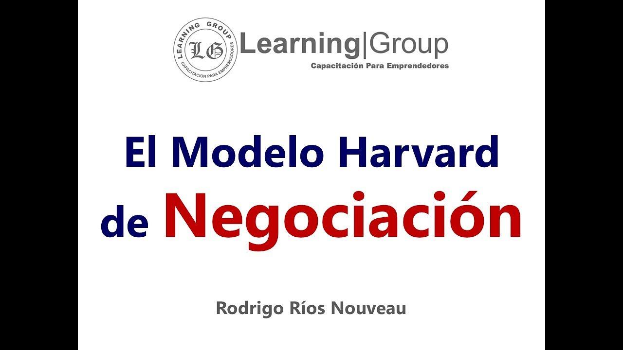 Modelo Harvard De Negociación