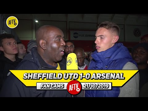 Sheffield Utd 1-0 Arsenal | Lacazette, Tierney & Ceballos Should Have Started!