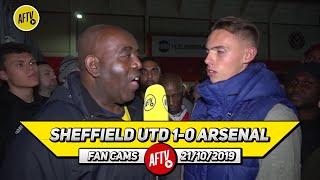Sheffield Utd 1-0 Arsenal | Lacazette, Tierney & Ceballos Should Have Started!
