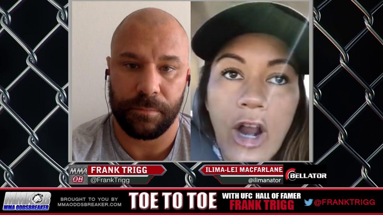 Frank Trigg interviews Bellator 186's Ilima-Lei Macfarlane