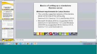 Lotus Domino Admin Training - Demo
