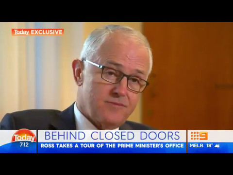 9News: A private tour of the Prime Minister's office
