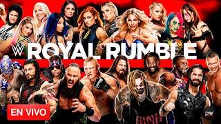 WWE Royal Rumble 2020 (Narración EN VIVO)