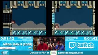 Mega Man 9 by slurpeeninja, TheBlacktastic in 32:29 - Awesome Games Done Quick 2016 - Part 135
