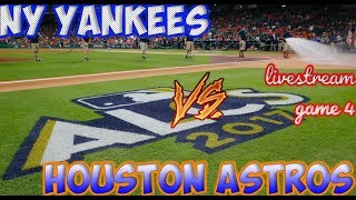 ALCS GAME 4 GAMEDAY STREAM - ASTROS VS YANKEES | SERIES IS TIED AT 2 - 2 COME CHAT AND SUBSCRIBE