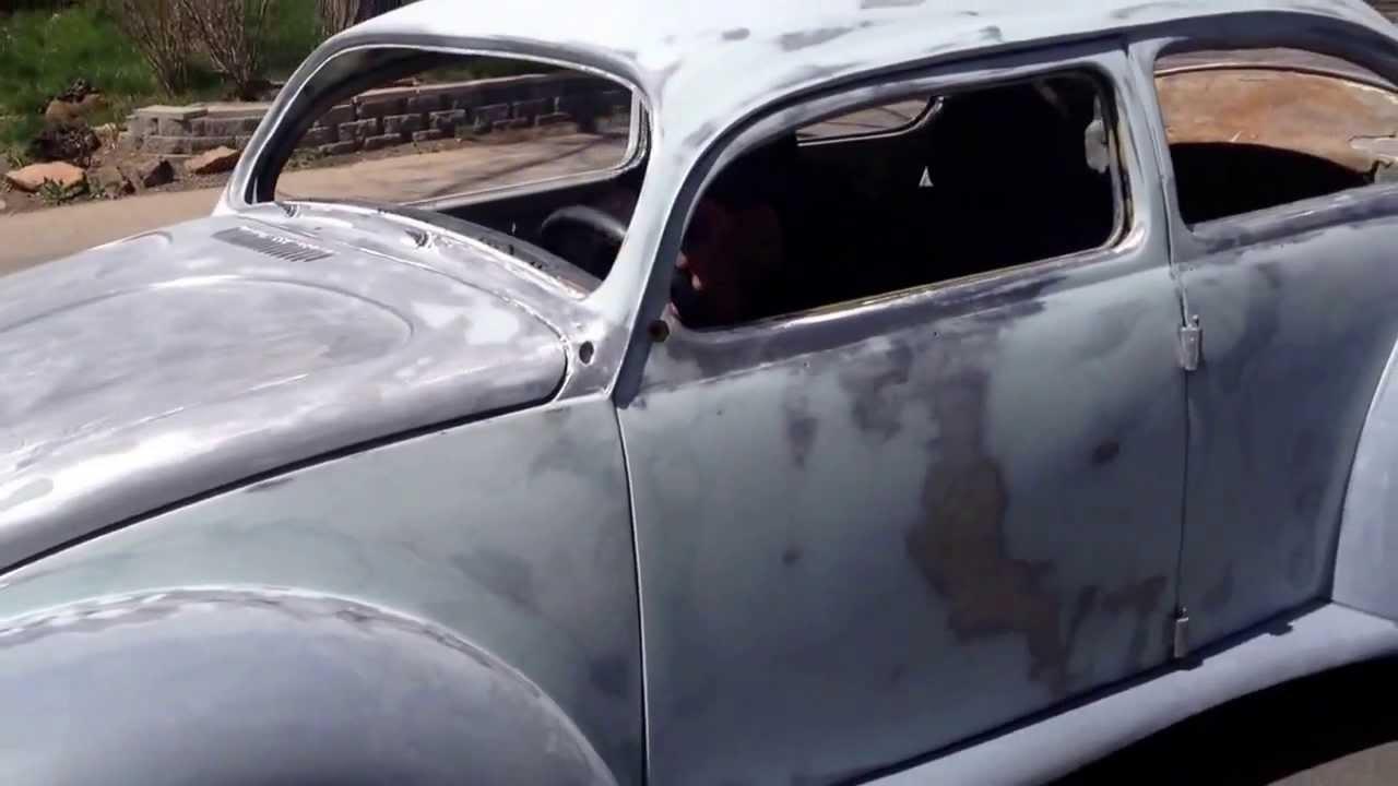 & 73 chop top suicide door bug - YouTube