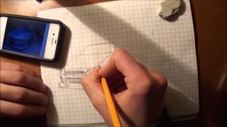 Как срисовать Nissan Skyline, в память о Пол Уолкере(, 2013-12-08T12:56:34.000Z)