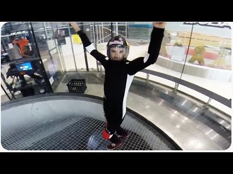 Vertical Wind Tunnel Flying | Indoor Skydiving