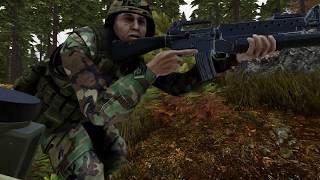 В бой идут одни пердуны ARMA3