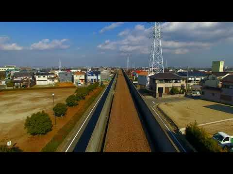 ドローン空撮】名鉄三河線の廃線をドローンで巡る旅 - YouTube