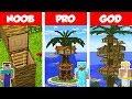 Download Video Minecraft NOOB vs PRO vs GOD: PALM Tree House Build Challenge in Minecraft / Animation MP4,  Mp3,  Flv, 3GP & WebM gratis
