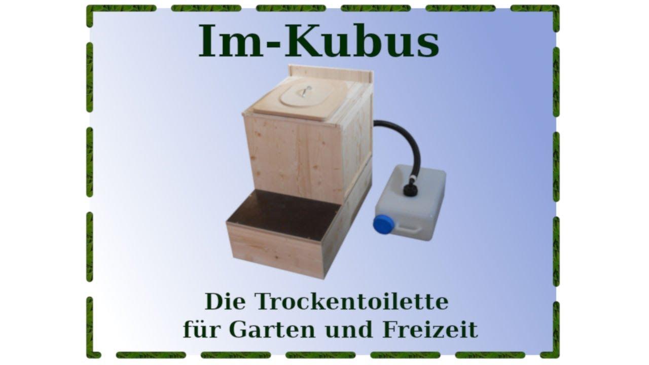 komposttoilette selber bauen im kubus der einfache bausatz youtube. Black Bedroom Furniture Sets. Home Design Ideas