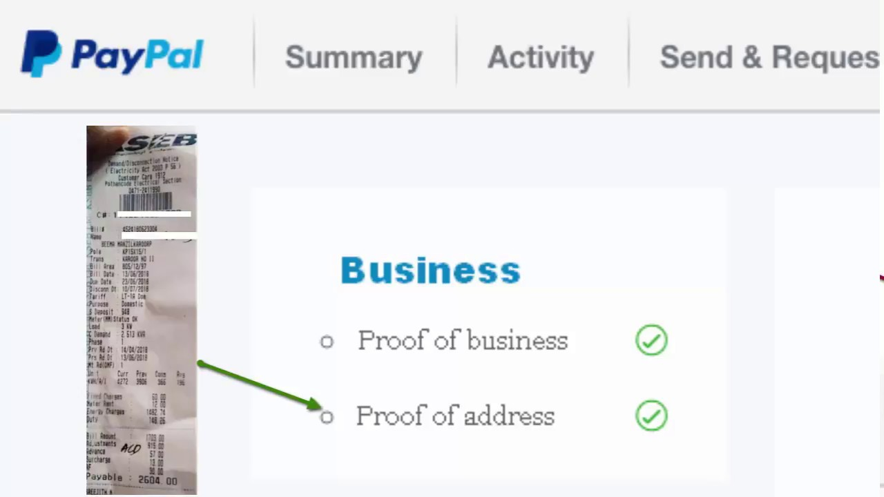 How to verify your Paypal business Identity without government issued  business proof