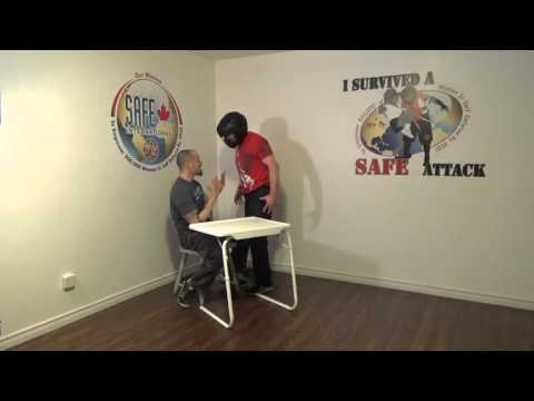 Self Defense From Seated Position - Promo Clip