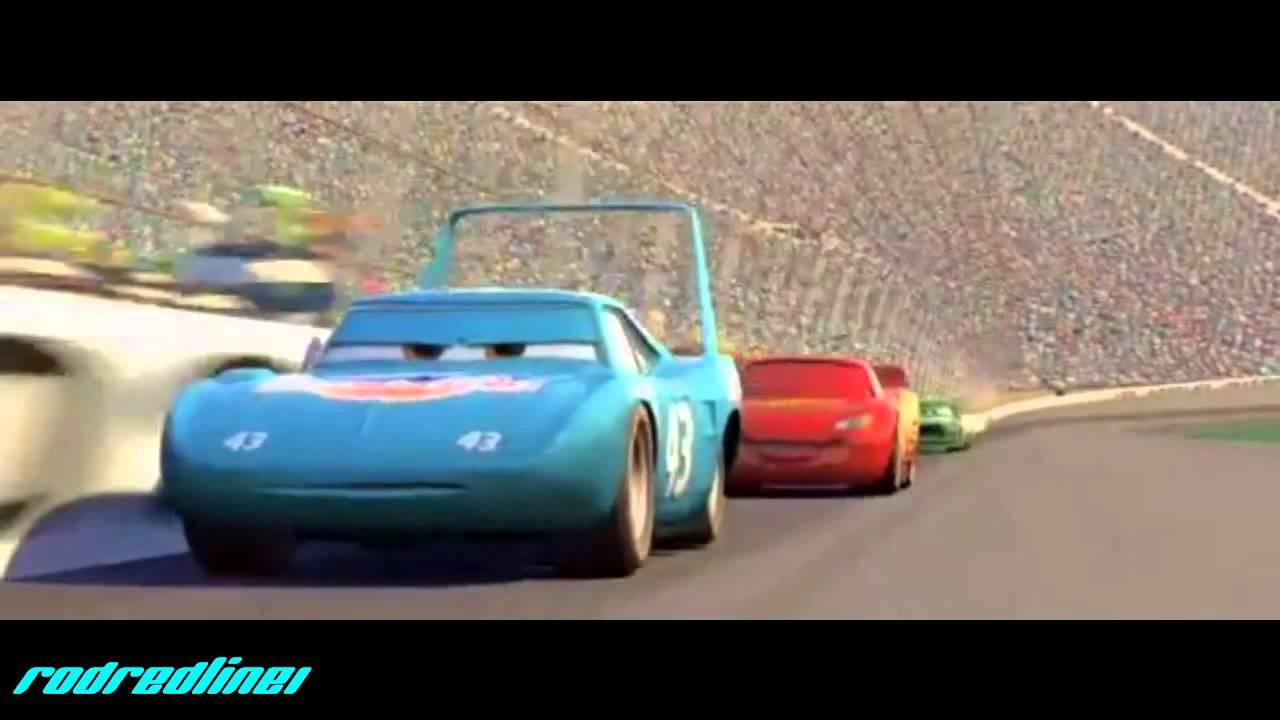 Cars King Dinoco Crash